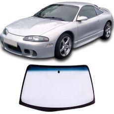 Parabrisa-Mitsubishi-Eclipse-95-a-99-Verde-Faixa-Azul-Vitro-